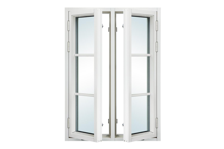 ARCTICA sidohängda fönster